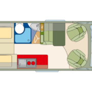 Roadcar 640 pôdorys