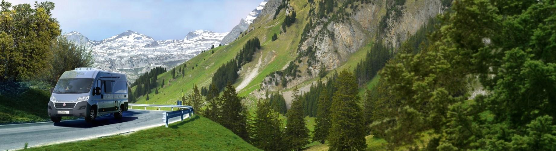 Roadcar v horách