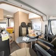 Roadcar R540 obývacia časť