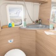 Roadcar 640 kúpeľňa / wc