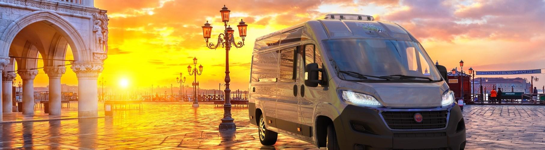 Roadcar v Benátkach