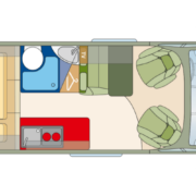 Roadcar R601 pôdorys
