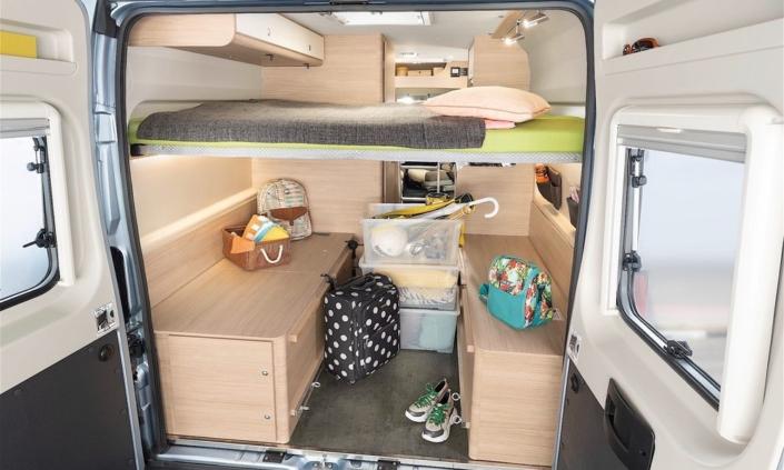 Roadcar R601 úložný priestor
